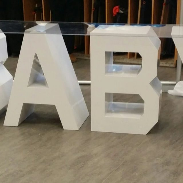 Marquee Letters Tables 6