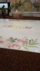 Vinyl Dance Floor Wraps
